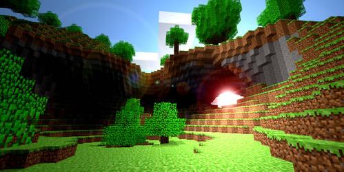 Minecraft Arch by HarryIsland