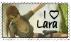 Lara Croft Stamp by jenniferlaura