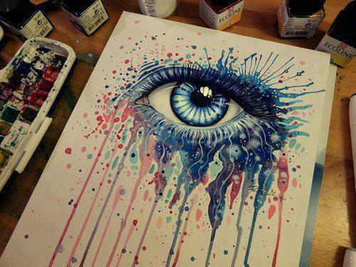 Eye by so cool image on deviantart for Creative things to do with paint