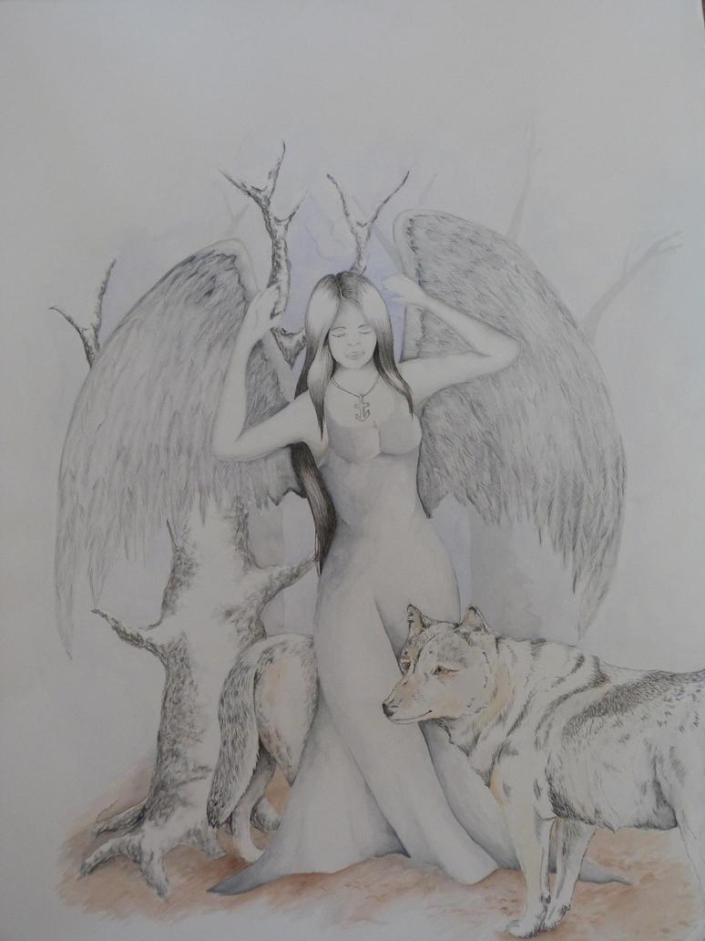 Guardian angel by mocksey