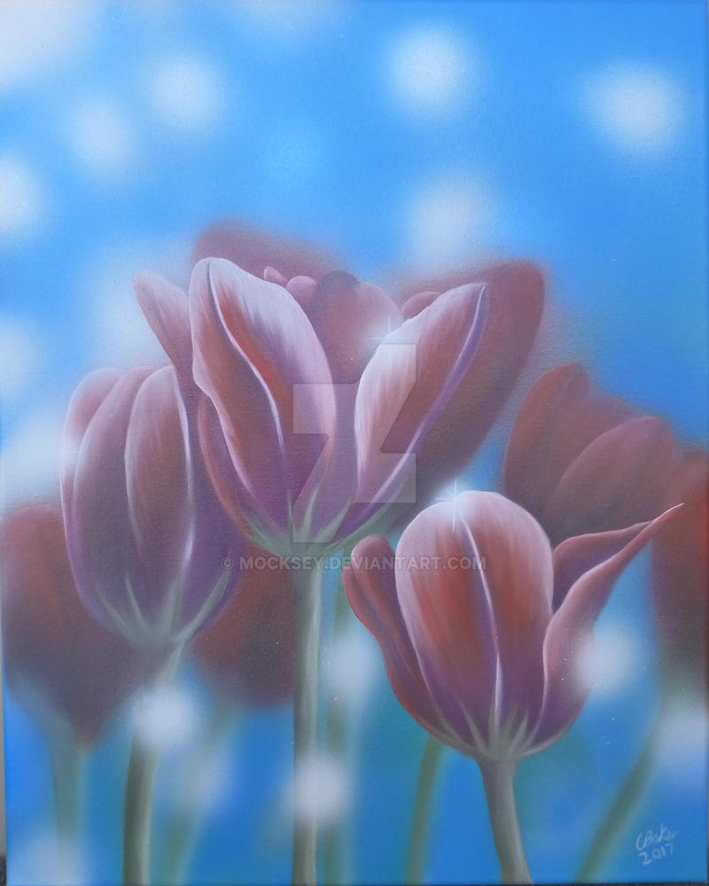 Tulips by mocksey