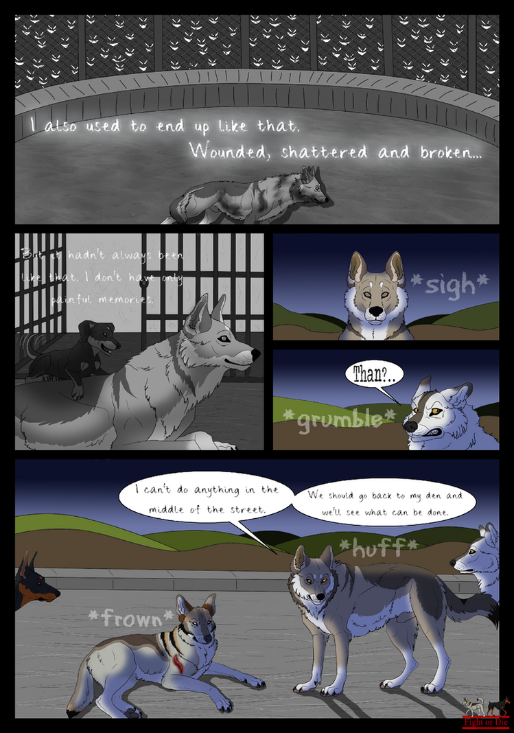 *Fight or Die* Chapter 2 Page 23 by LupusAvani