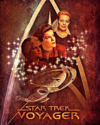 Janeway/Seven  by autoicscuhing