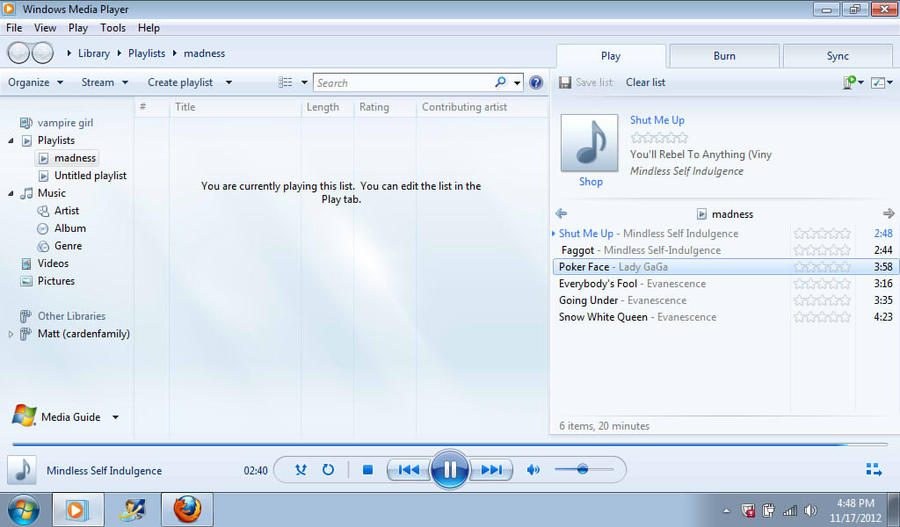 windows media player by Shugo-higurashi