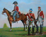 Soldiers of 4th Regiment of Dragoon Guards