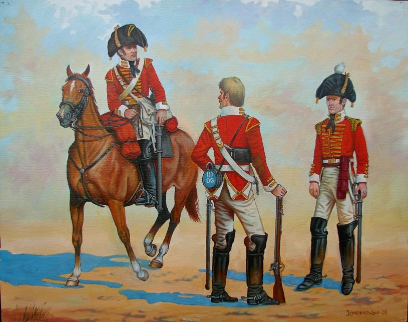 Soldiers of the 3rd Regiment of Dragoon Guards