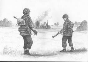 Paratroopers Gen. S. Sosabowski by matej16
