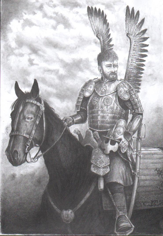 Husarz ( Polish elite cavalry) by matej16