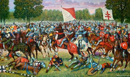 45.The Battle of Koronowo, October 10, 1410 -