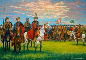 Lisowczycy  - hellish riders.