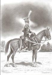 Officer 1st regiment of Light-horse