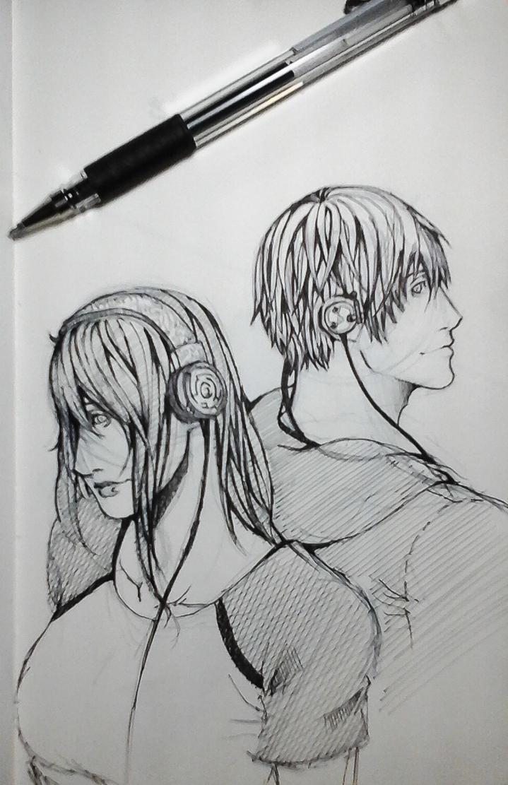 Sketch 4-18-15 by AzureDevilXENO
