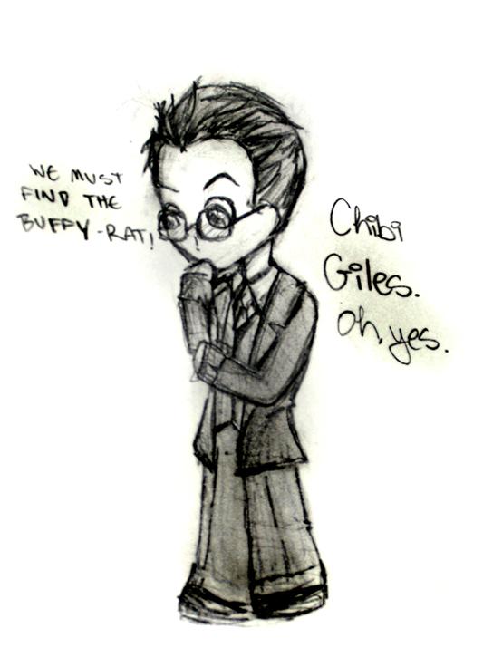 Giles the Chibi by ShinkisRule