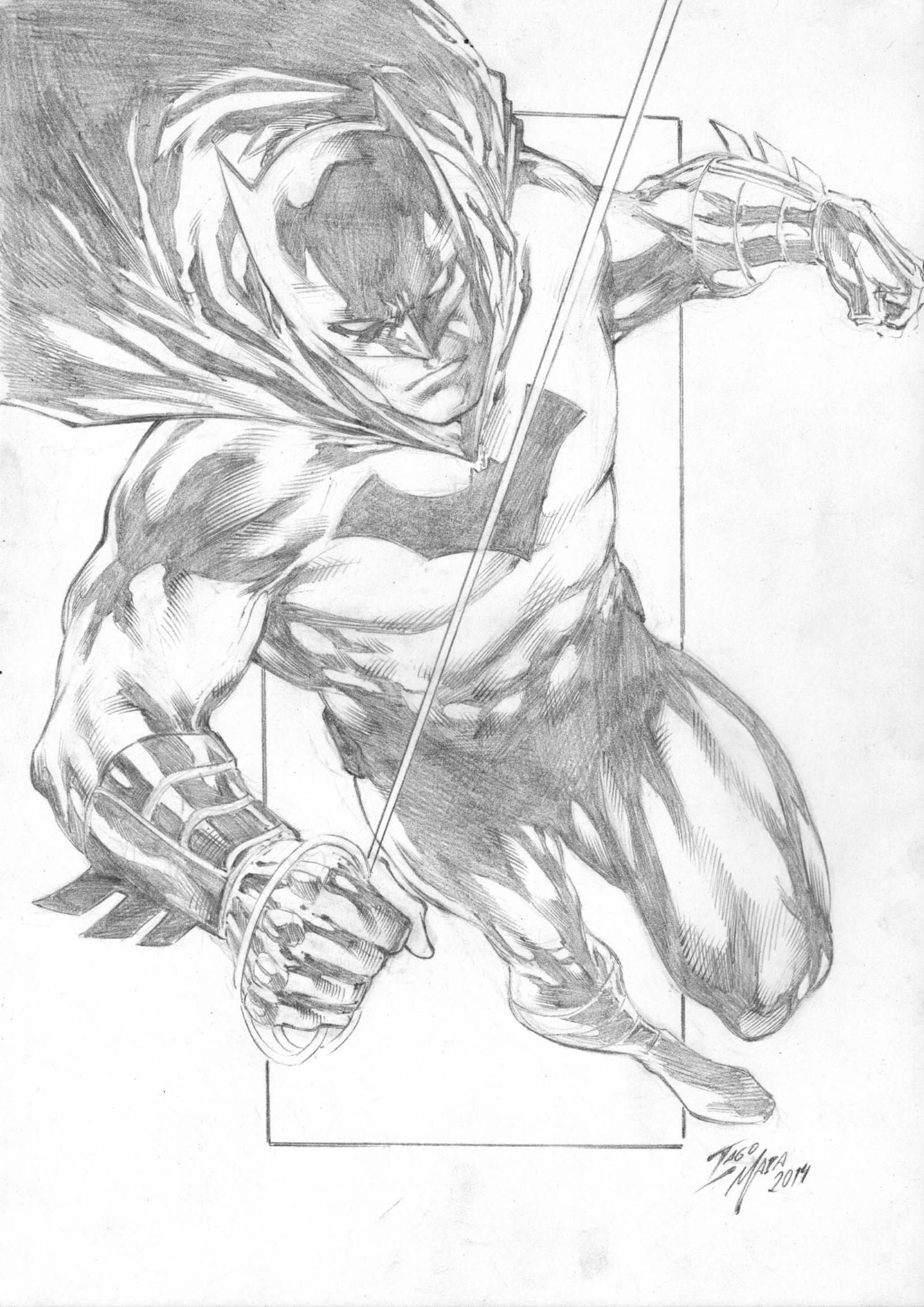Batman By Iago Maia by Ed-Benes-Studio