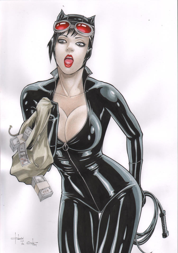 Catwoman by Rubismar by Ed-Benes-Studio