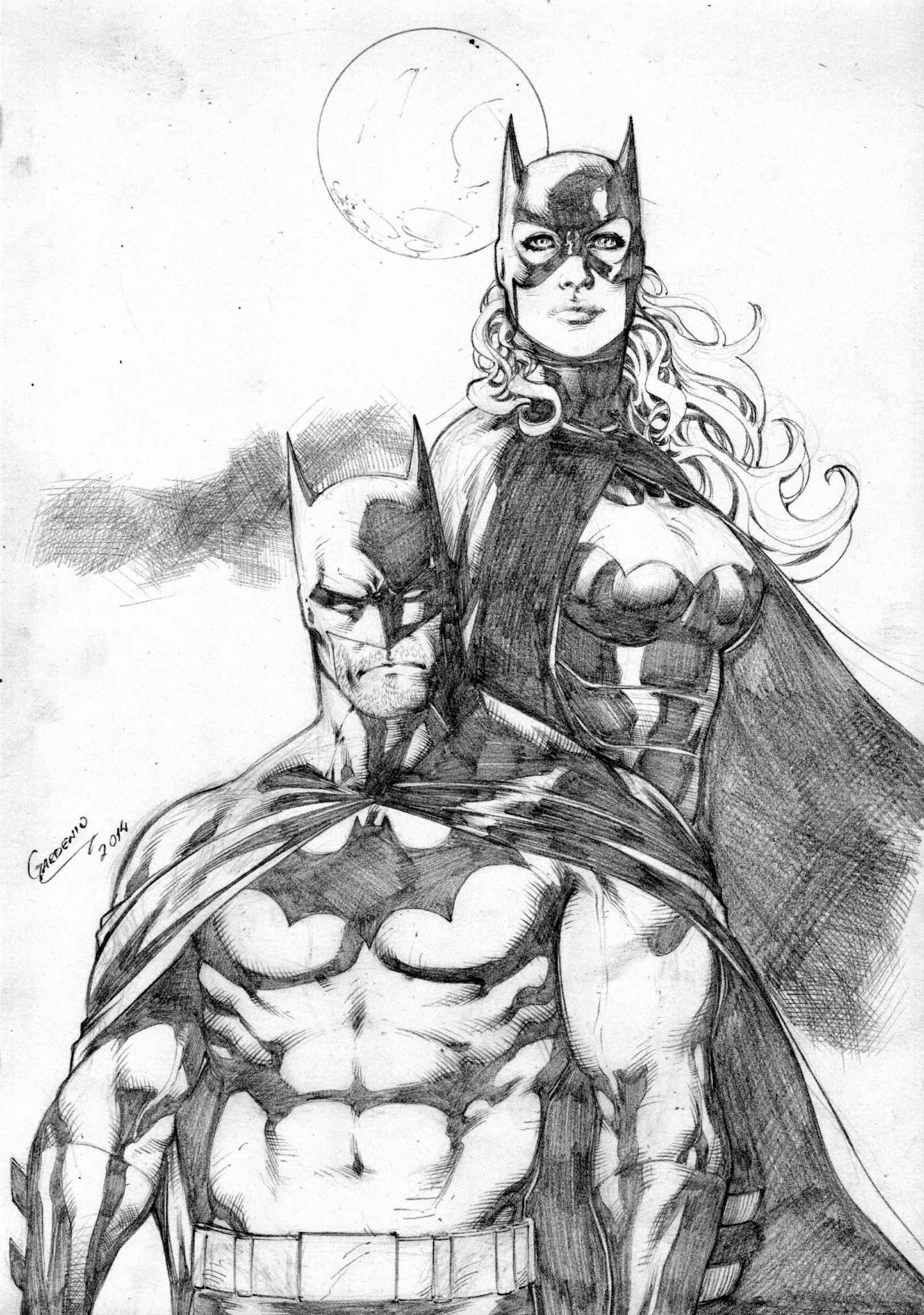 The Women Of Dc Comics Ink In Adam Withers S Dc Comics: Batman And Batgirl By Gardenio Lima By Ed-Benes-Studio On