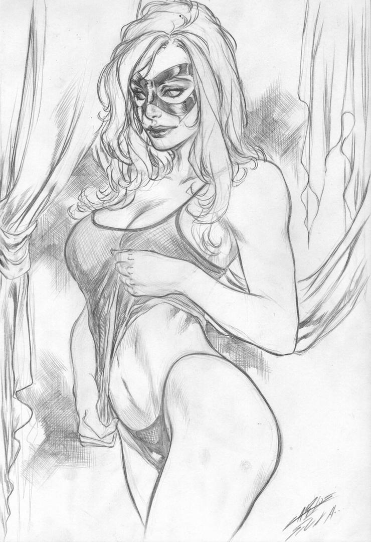 Black Cat by Carlos Silva by Ed-Benes-Studio