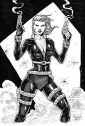 Black Widow by Ezequiel Assis by Ed-Benes-Studio