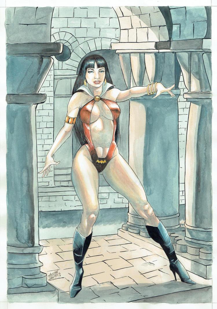 Vampirella by Anilton Freires by Ed-Benes-Studio