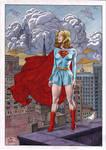 Supergirl by Joe Pimentel - Ed Benes Studio by Ed-Benes-Studio