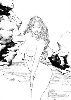 Red Sonja by Iago Maia - Ed Benes Studio