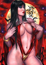 Vampirella by Layne