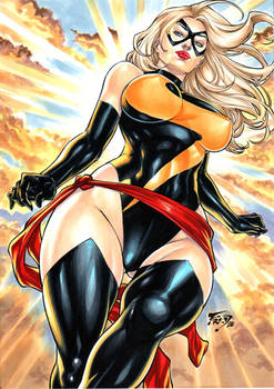 Miss Marvel by Fred Benes