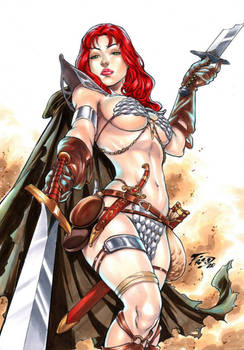Red Sonja by Fred Benes