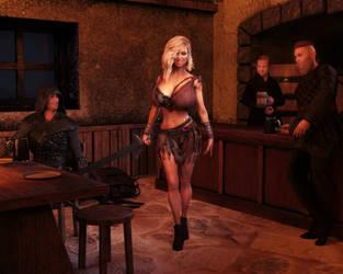 Twenty seconds before a tavern brawl by reserv888