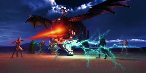 Dragonbattle by reserv888