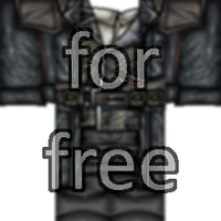Free Trench Coat (template in description)