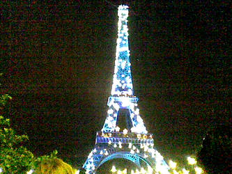 Paris summer night_by ossaria by ossaria