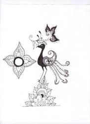 Mehndi Bird