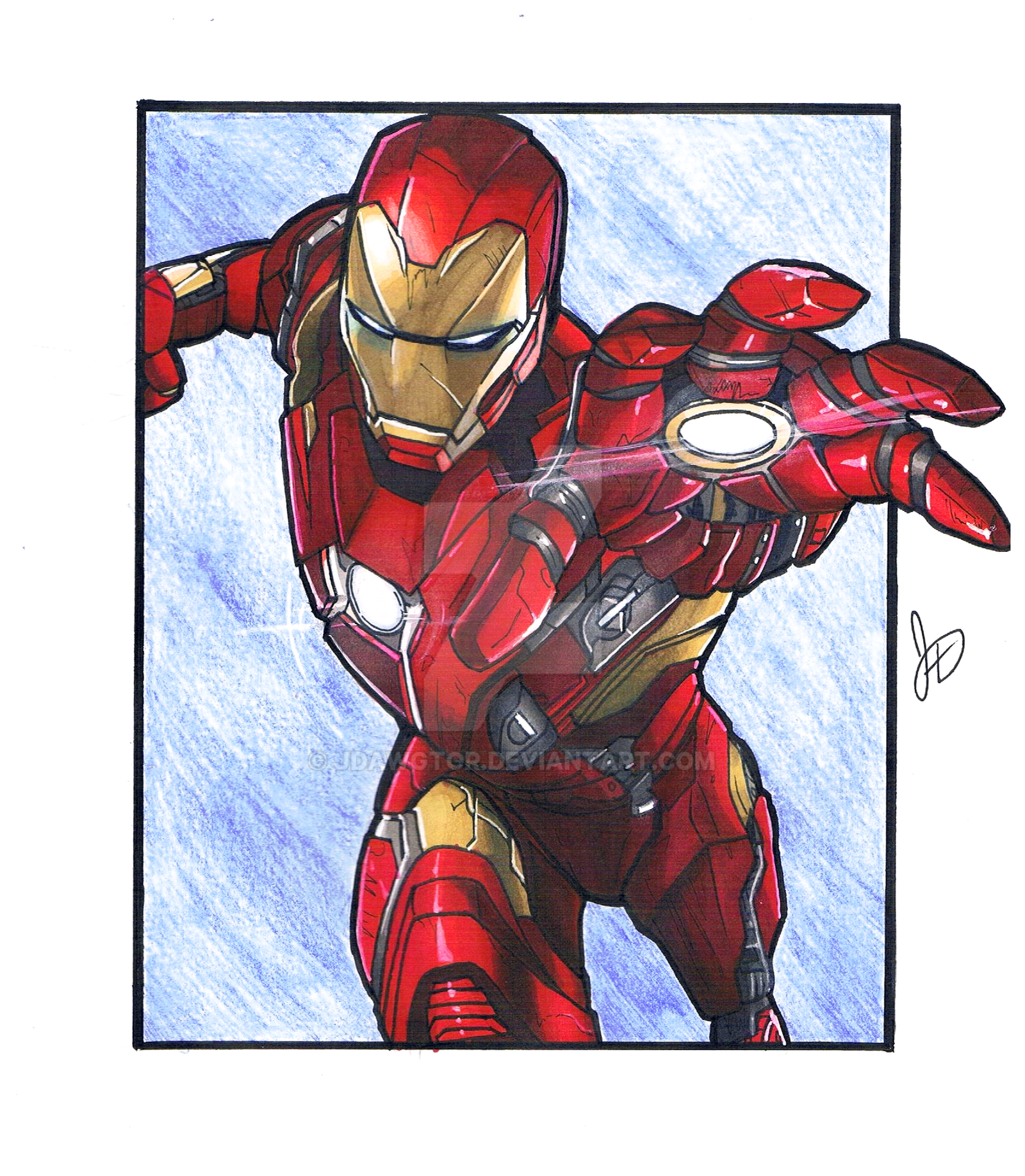 Iron Man from Avengers Infinity War by jdawgtor on DeviantArt