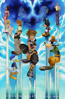 [MMD] KH2 Final Mix+ by Otzipai-Art
