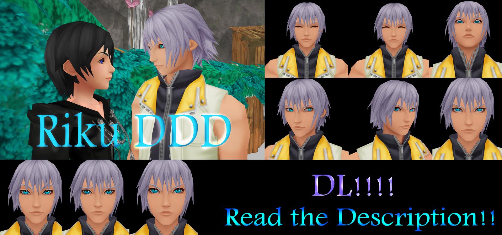 [MMD] Riku DDD - DL! by kazuki9484