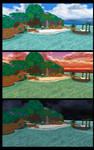 [MMD] Destiny Islands Stages - DL