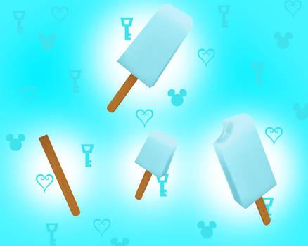 [MMD] Sea-Salt Ice Cream - DL!! by Otzipai-Art