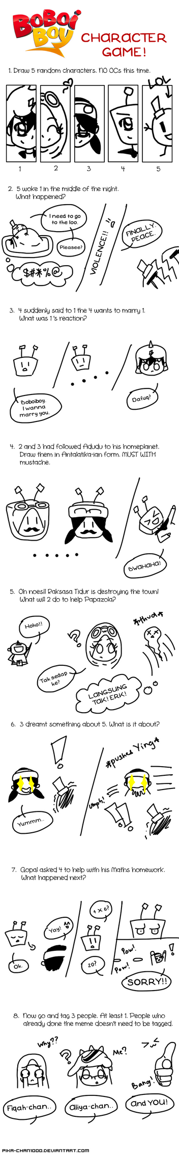 Boboiboy Character Game [Done] by nuazka