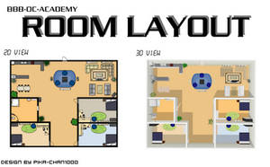 Room Layout [2D and 3D] by nuazka
