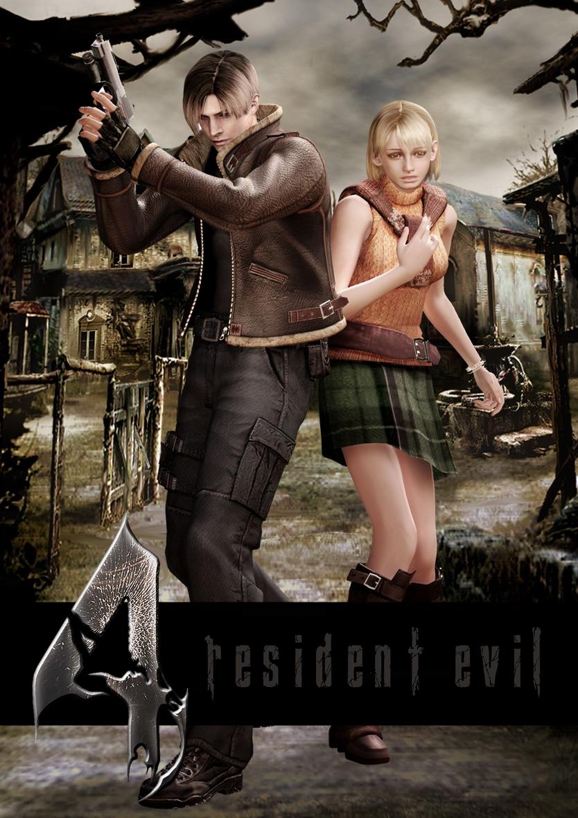 Leon Kennedy And Ashley Graham Resident Evil 4 By Igorbiohazard