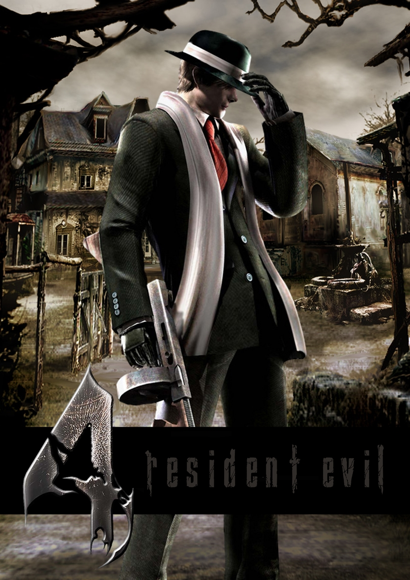 Leon S Kennedy Gangster Costume Resident Evil 4 By
