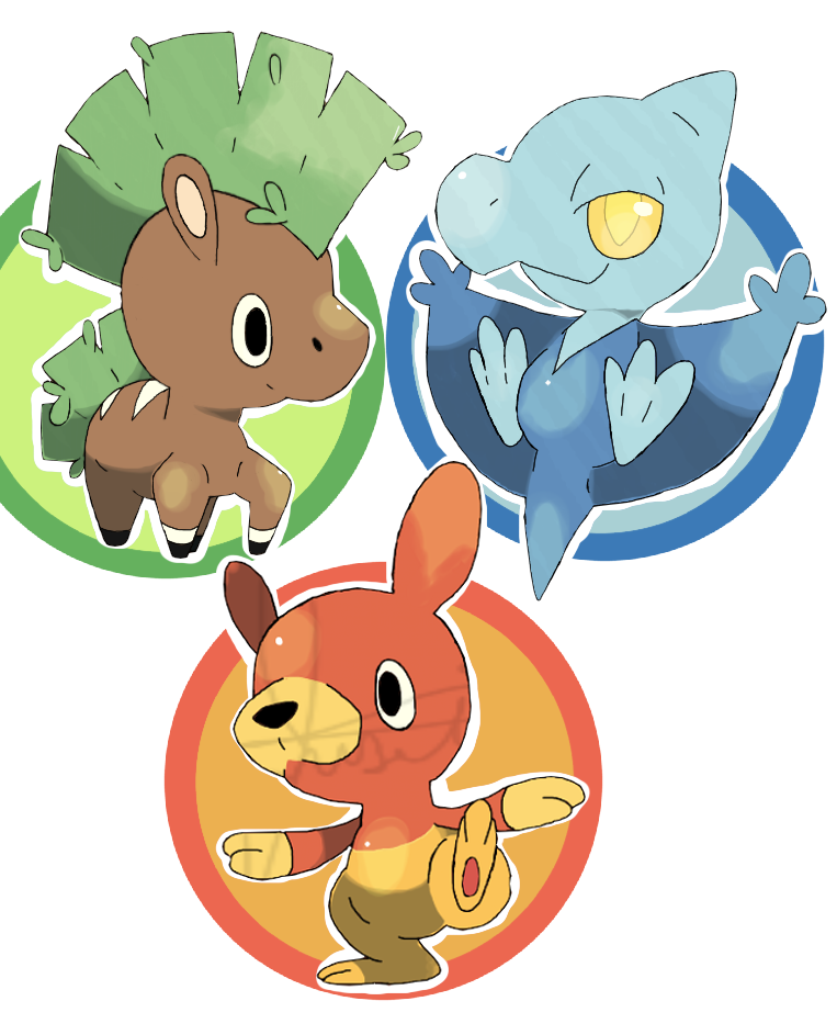 New Starters! (Revealed) by DogMango