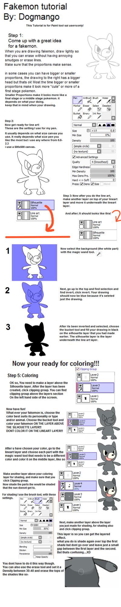Fakemon Tutorial Part 1 by DogMango
