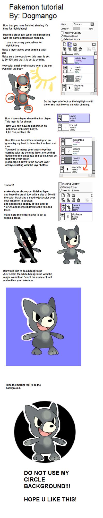 Fakemon Tutorial Part 2 by DogMango