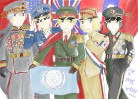 Hetalia UN Allies by camisicado