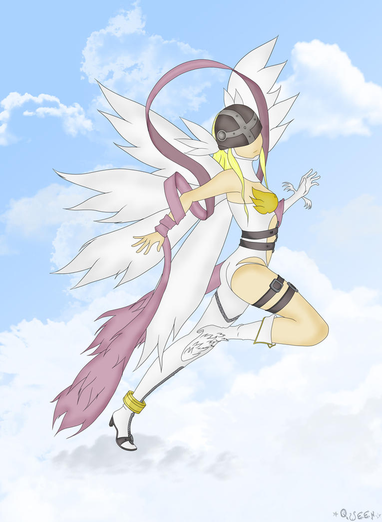 Angewomon by lQueen-of-darknessl