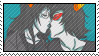Terezi x Vriska -STAMP- by Wyndetah