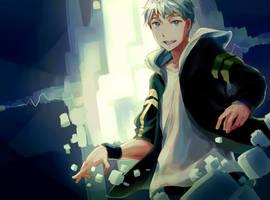 Electric shock by Taro-K