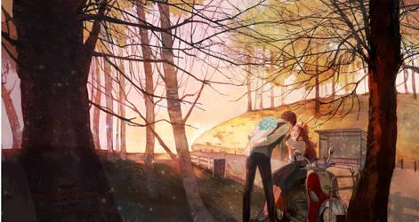 Autumn ride by Taro-K